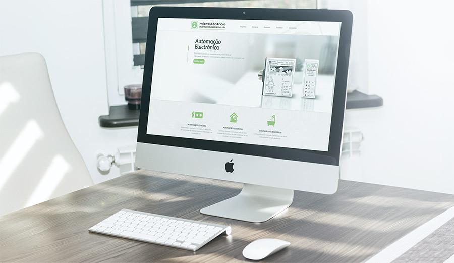 Novo site da Microcontrole