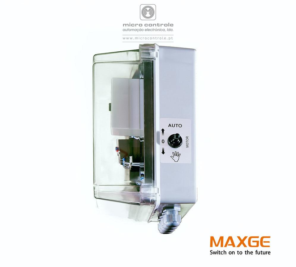 Quadro de nível para controle e proteção de bombas elétricas submersíveis - QN QEF - Vista lateral