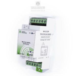 """Relé de controlo de nível para enchimento de depósito, com indicação de """"Nível Alto"""" e """"Falta de Água"""" - RFA 101 DSM - Vista Perspectiva"""