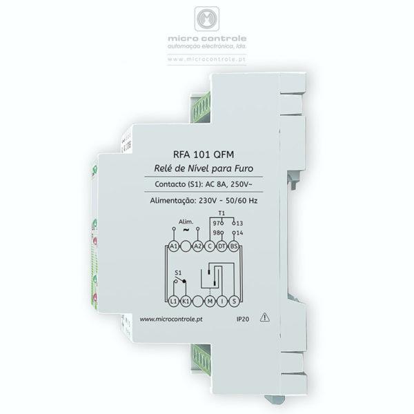 Relé de controlo de nível parafuro - RFA 101 QFM